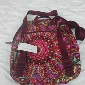 Vera Bradley backpack & eyewear holder